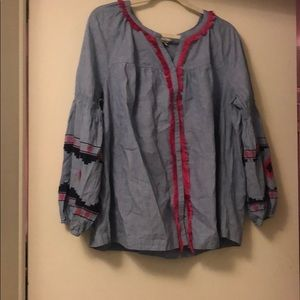 Crown and Ivy Blouse